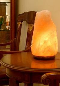 солевая лампа, светильник