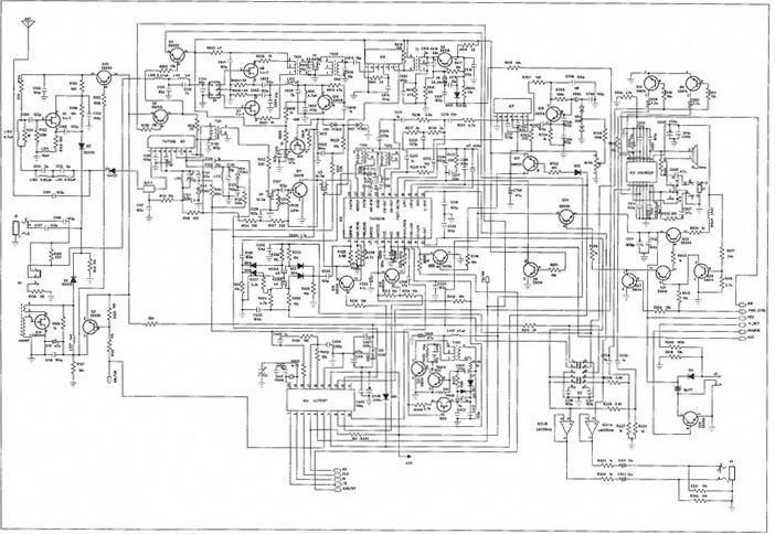 Схема электрическая принципиальная Degen 1103