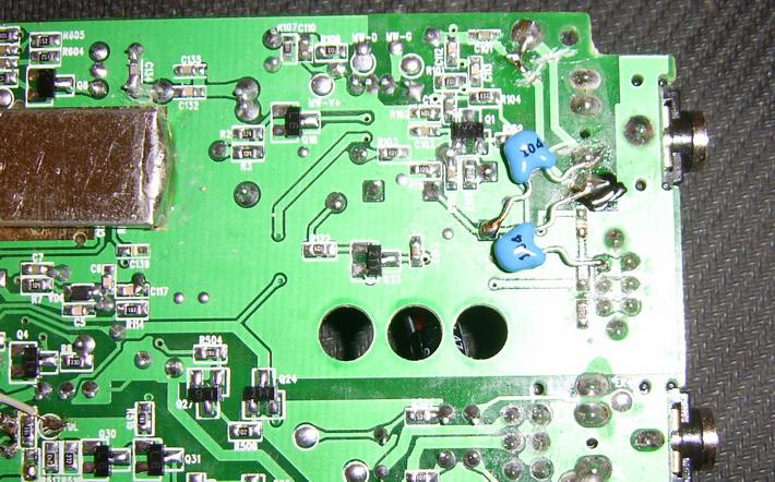 Degen DE 1103 - доработка и модернизация