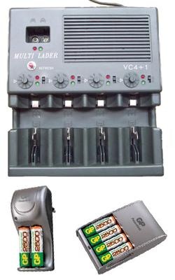 Зарядное устройство Conrad VC4+1 для NiCd и NiMH