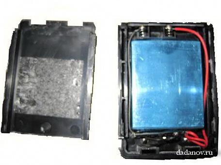 Разбираем аккумулятор UV-3R Plus