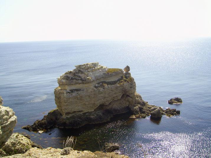 Крым скала черепашка