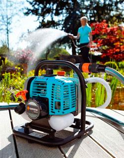 Выбор мотопомпы для полива огорода