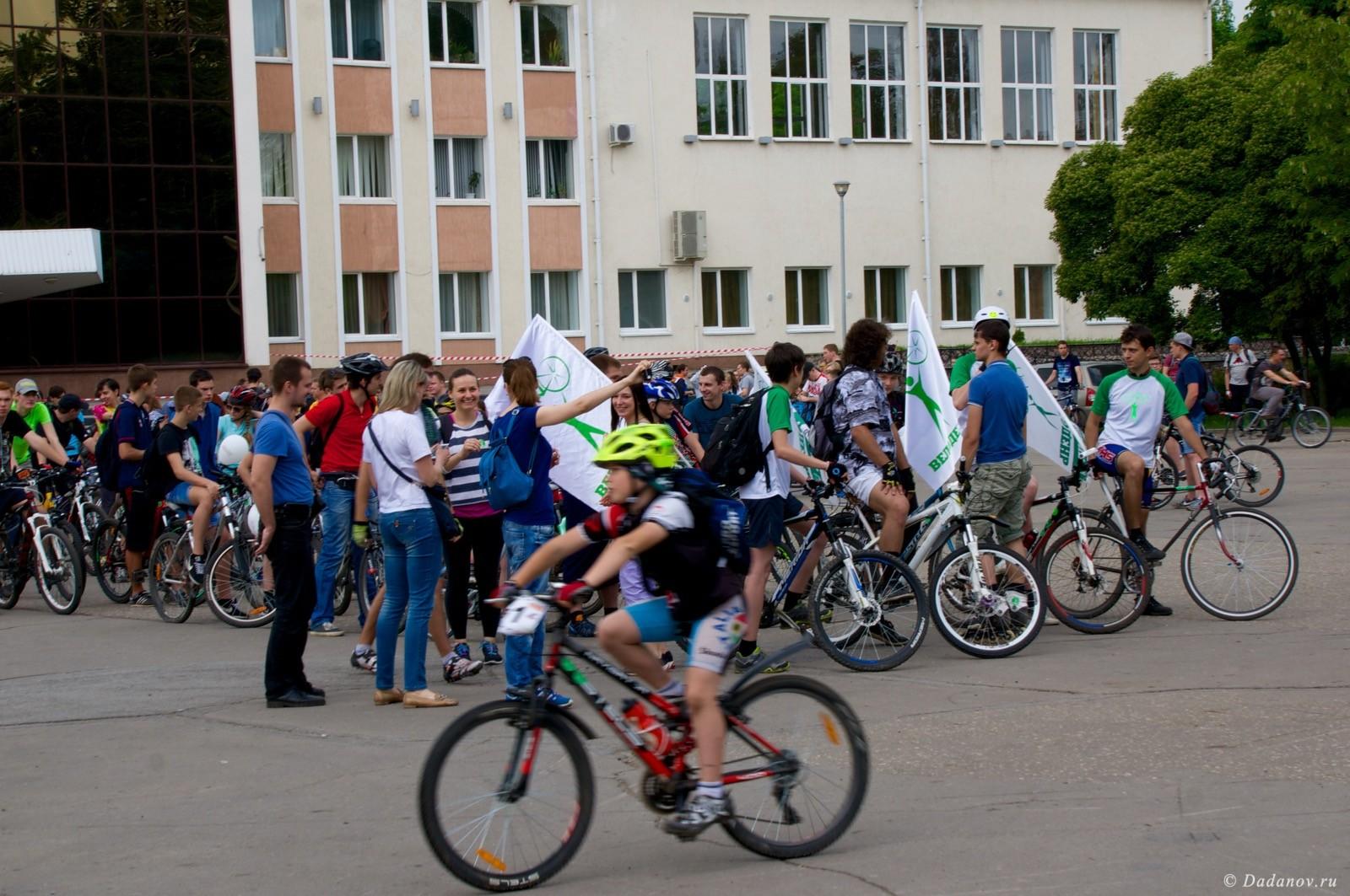 Велодень 2016 в Липецке состоялся. Фотографии с мероприятия 2975
