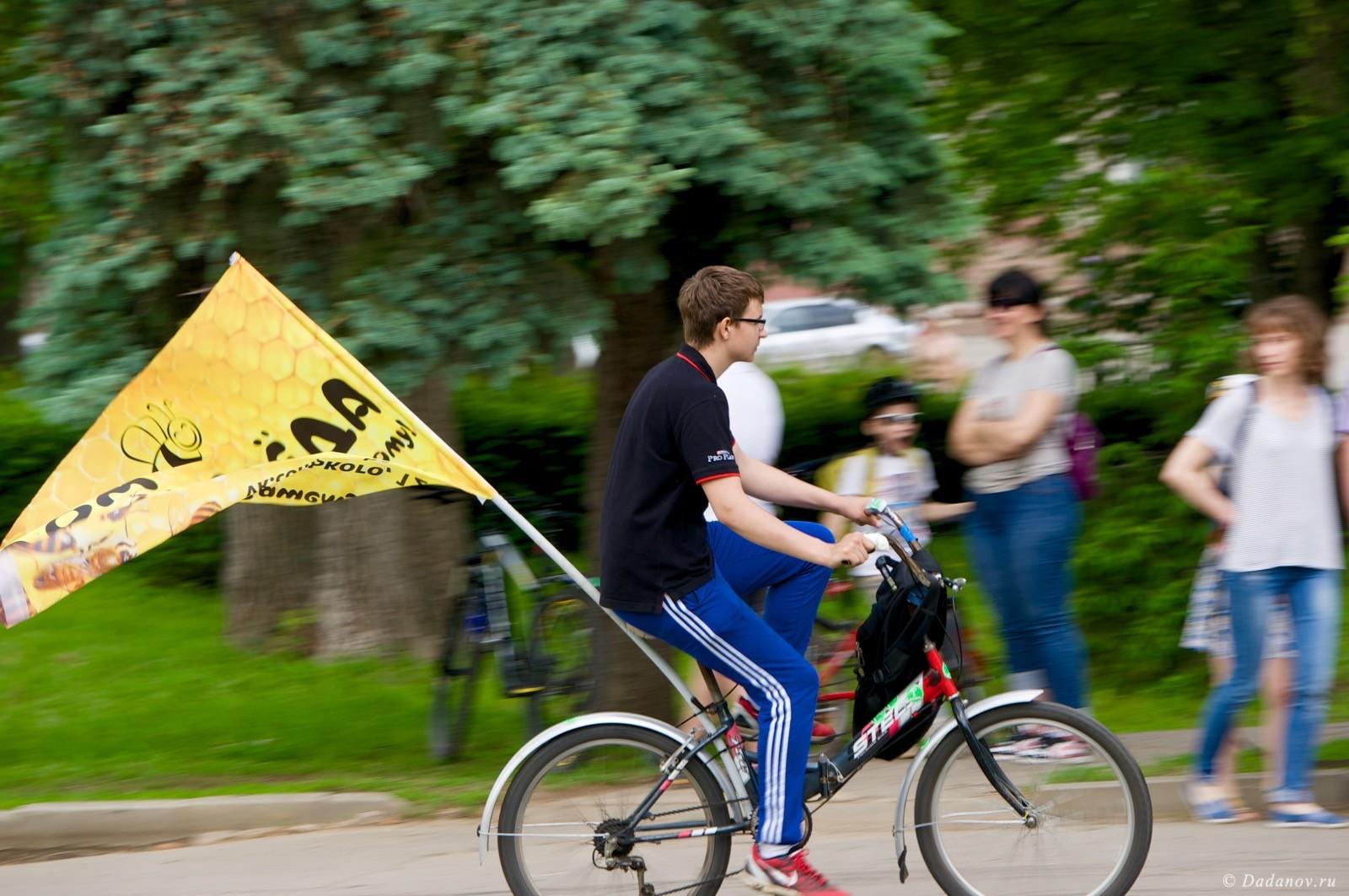 Велодень 2016 в Липецке состоялся. Фотографии с мероприятия 2983