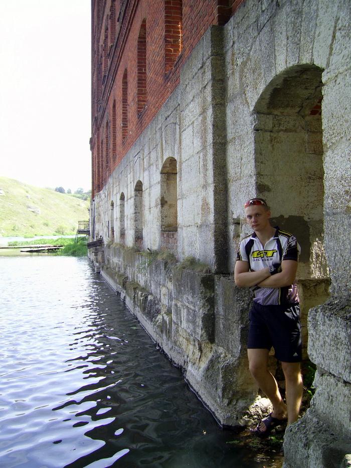 Старая водяная мельница на Ворголе 1867 года постройки