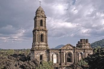 Собор Парикутин (Мексика)
