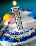 Вот и наступил первый День рождения моего блога