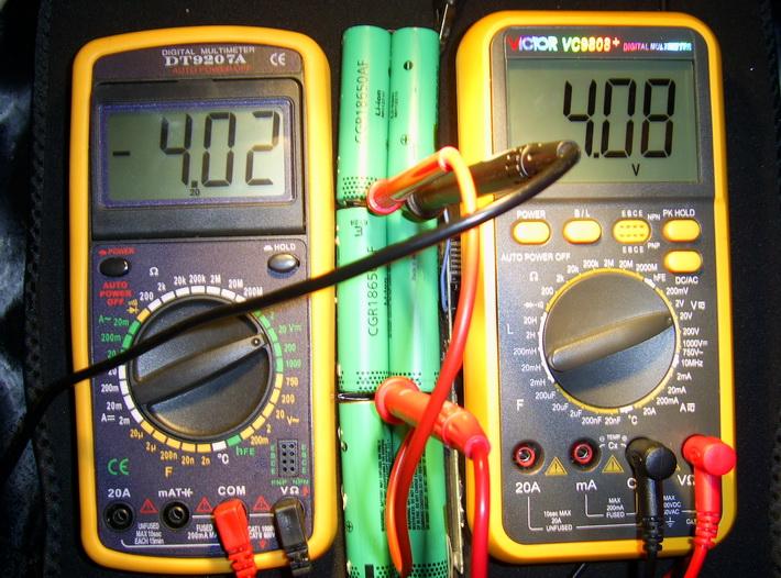 18650 аккумулятора в батареи ноутбука