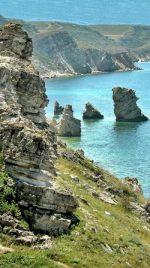 Крым м. Тарханкут 57 км пешком вдоль побережья