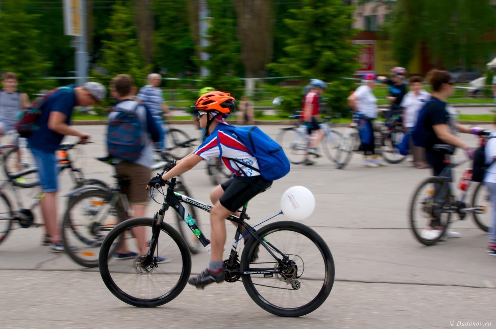 Велодень 2016 в Липецке состоялся. Фотографии с мероприятия 2959