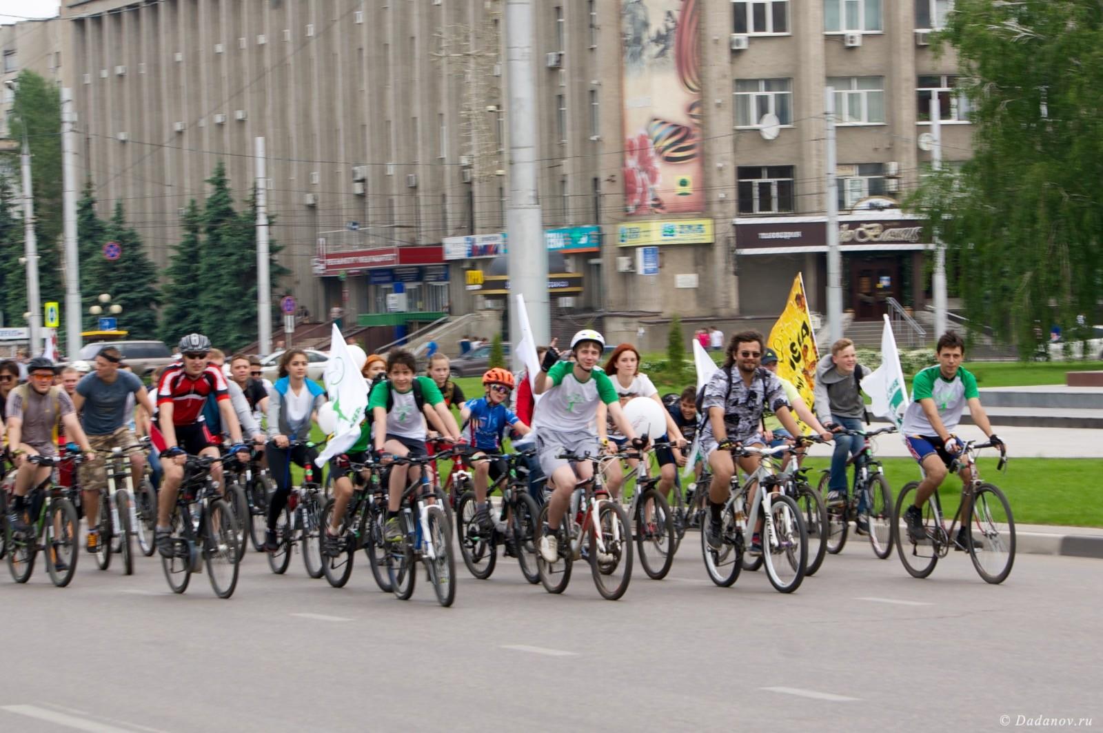Велодень 2016 в Липецке состоялся. Фотографии с мероприятия 3001
