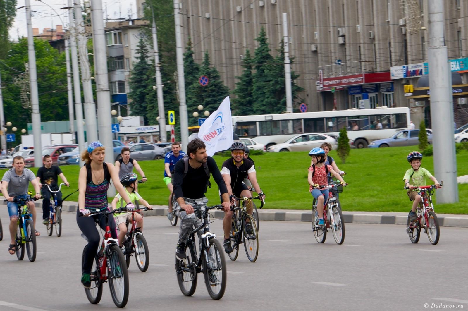 Велодень 2016 в Липецке состоялся. Фотографии с мероприятия 3020