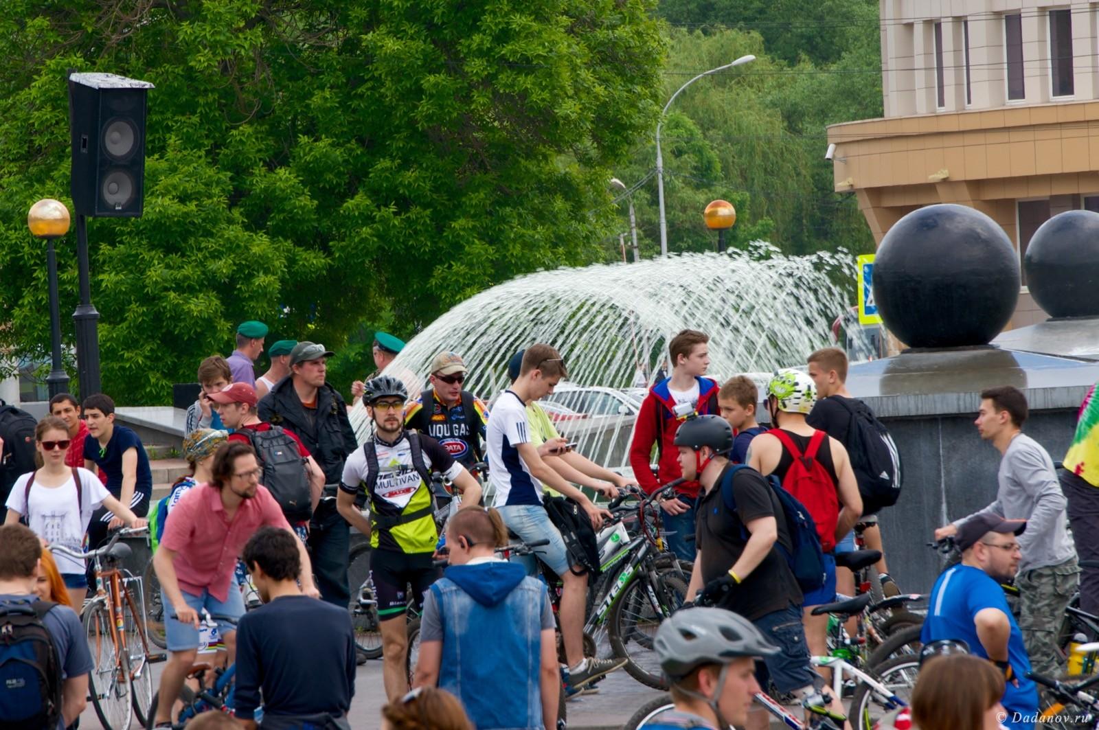 Велодень 2016 в Липецке состоялся. Фотографии с мероприятия 3054